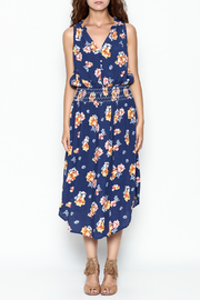 Current Air Bright Floral Dress - Front full body
