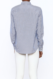 Current Air Embroidered Button Down - Back cropped