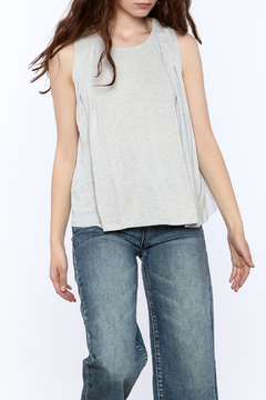 Shoptiques Product: Grey Lightweight Top