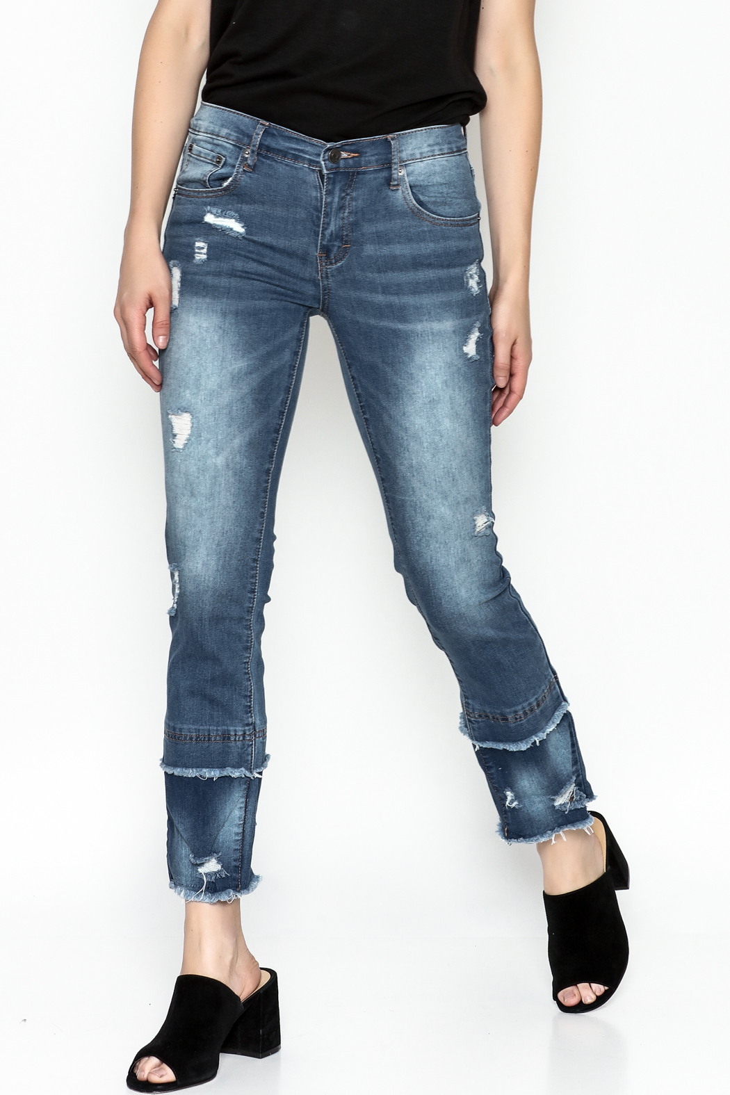 Current Air Fray Hem Jeans - Main Image