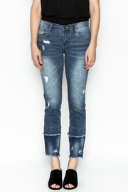 Current Air Fray Hem Jeans - Front full body