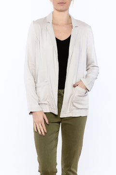 Shoptiques Product: Grey Linen Blazer