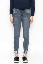 Current Air Jenee Distressed Jeans - Front full body