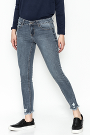 Current Air Jenee Distressed Jeans - Front cropped