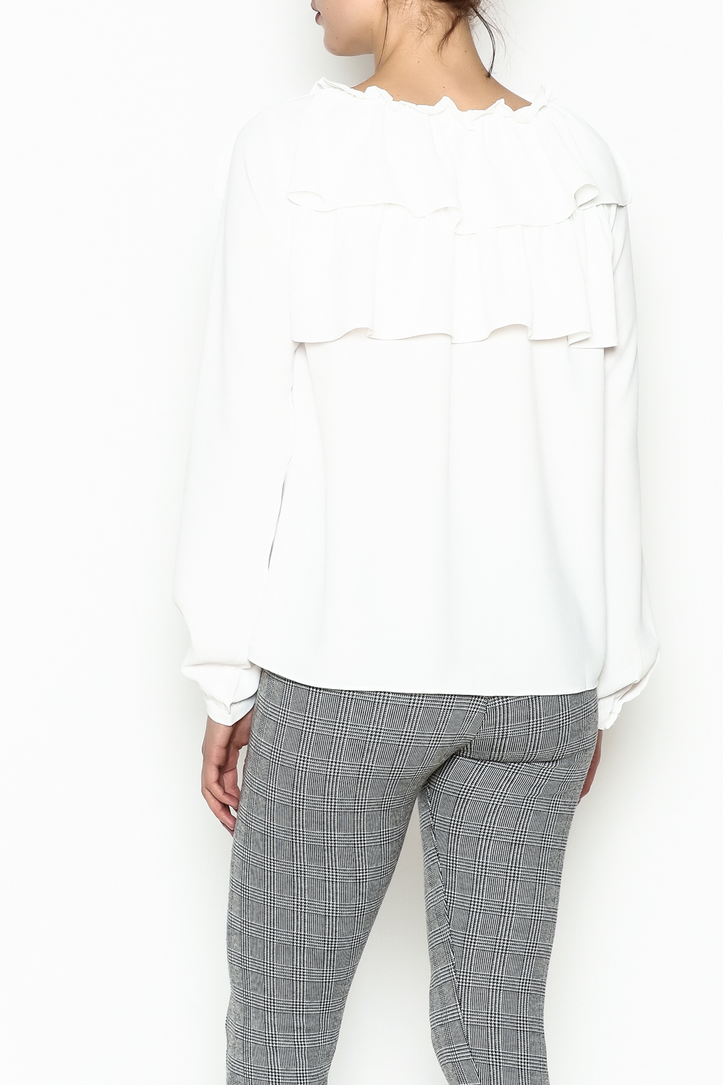 Current Air Meg Blouse - Back Cropped Image