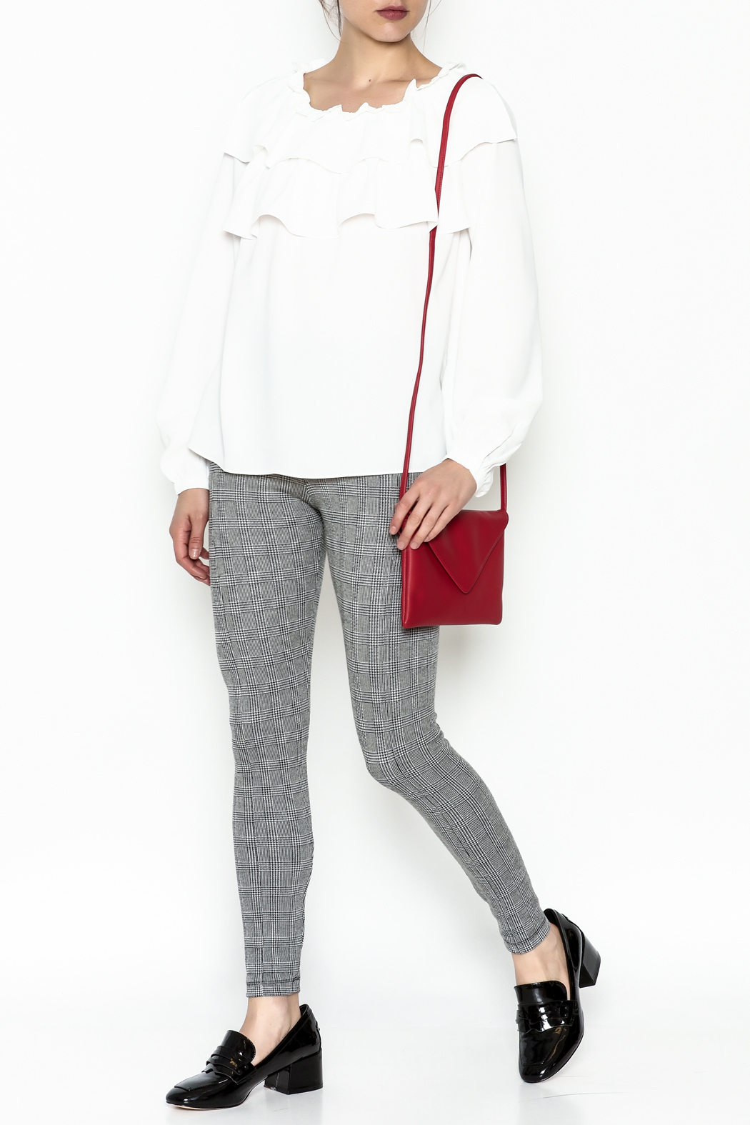 Current Air Meg Blouse - Side Cropped Image