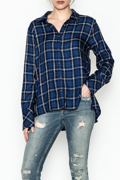 Shoptiques Product: Plaid Button Down Shirt