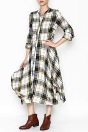 Current Air Plaid Maxi Dress - Product Mini Image