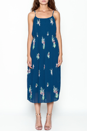 Current Air Pleated Cami Dress - Front cropped