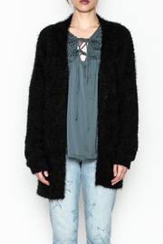 Current Air Sara Furry Cardi - Product Mini Image