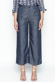 Current Air Tencel Culotte Pants - Front full body