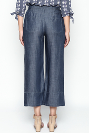 Current Air Tencel Culotte Pants - Back cropped