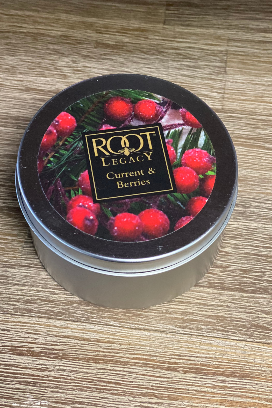 The Birch Tree Current & Berries Travel Tin Candle - Main Image