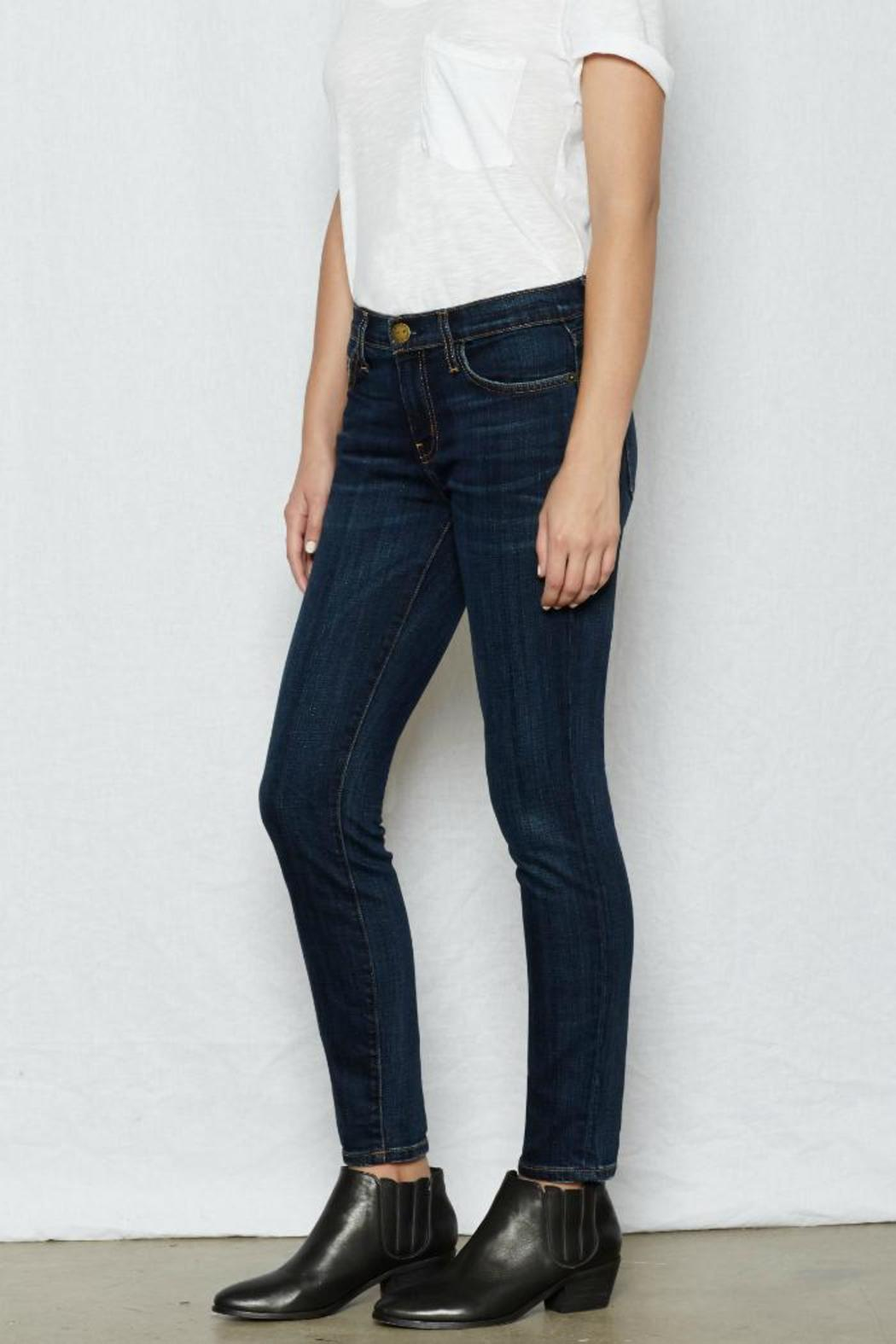 Current/Elliott Ankle Skinny Gibson - Side Cropped Image