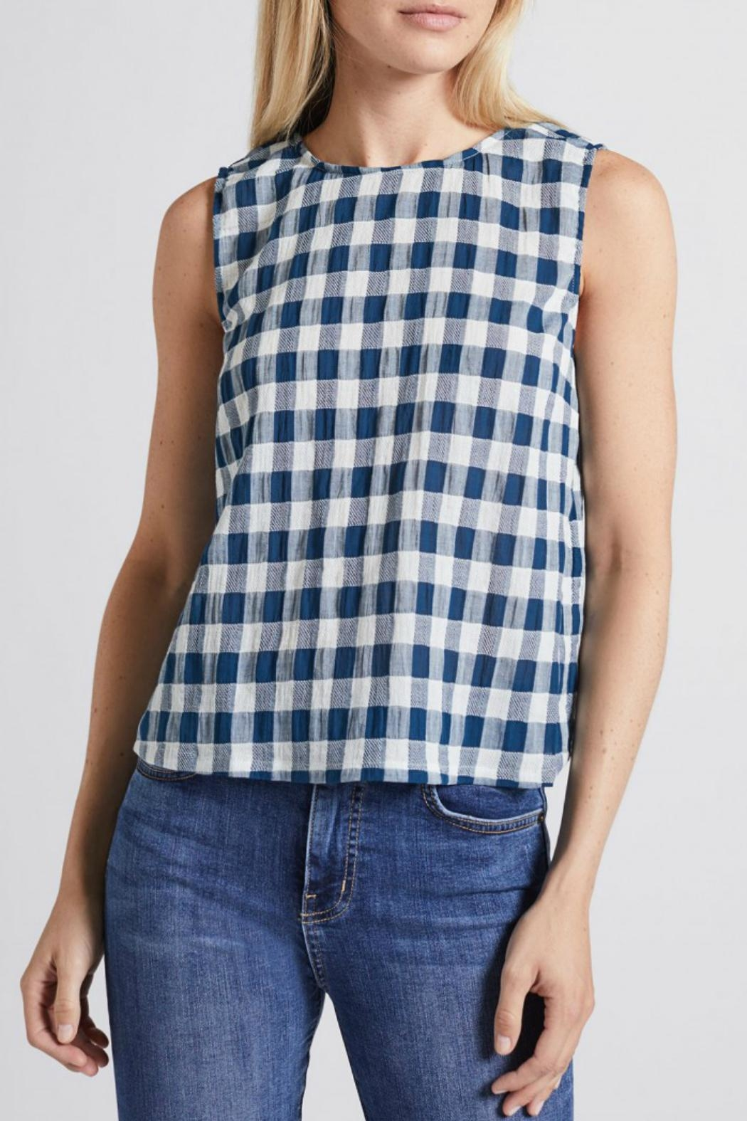 Current Elliott Boxy Cropped Tank Top - Main Image