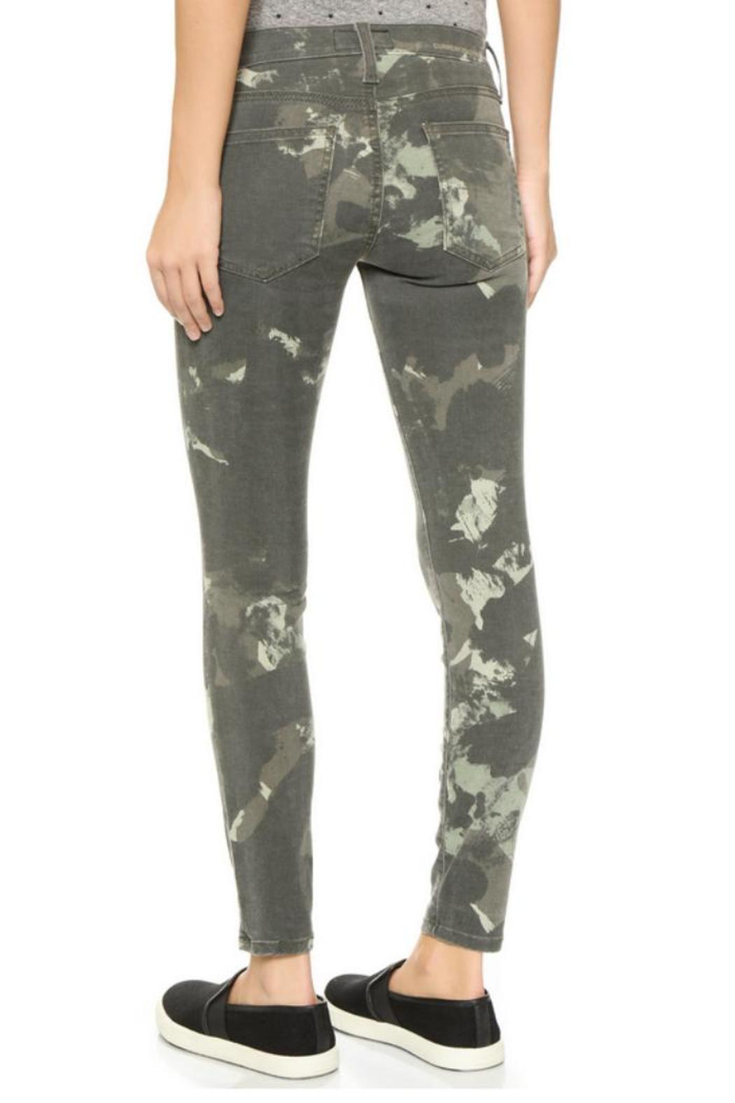 Current/Elliott Camo Stiletto Jeans - Front Full Image