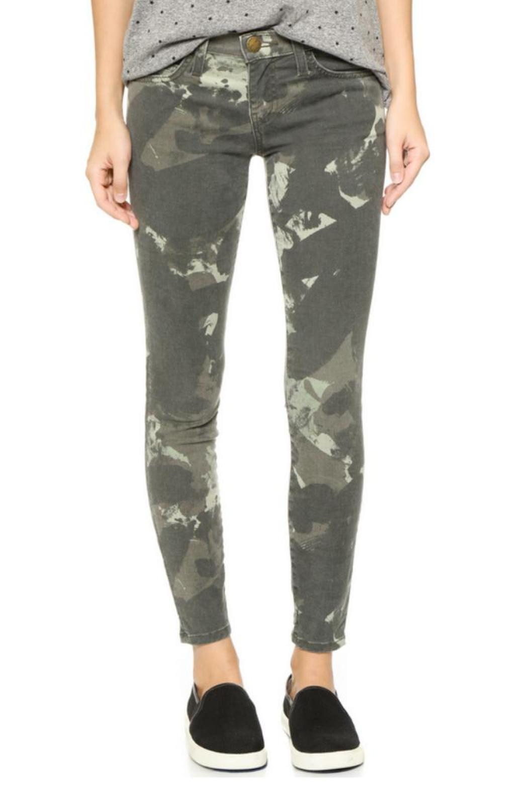 Current/Elliott Camo Stiletto Jeans - Main Image
