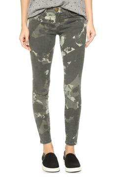 Current/Elliott Camo Stiletto Jeans - Product List Image