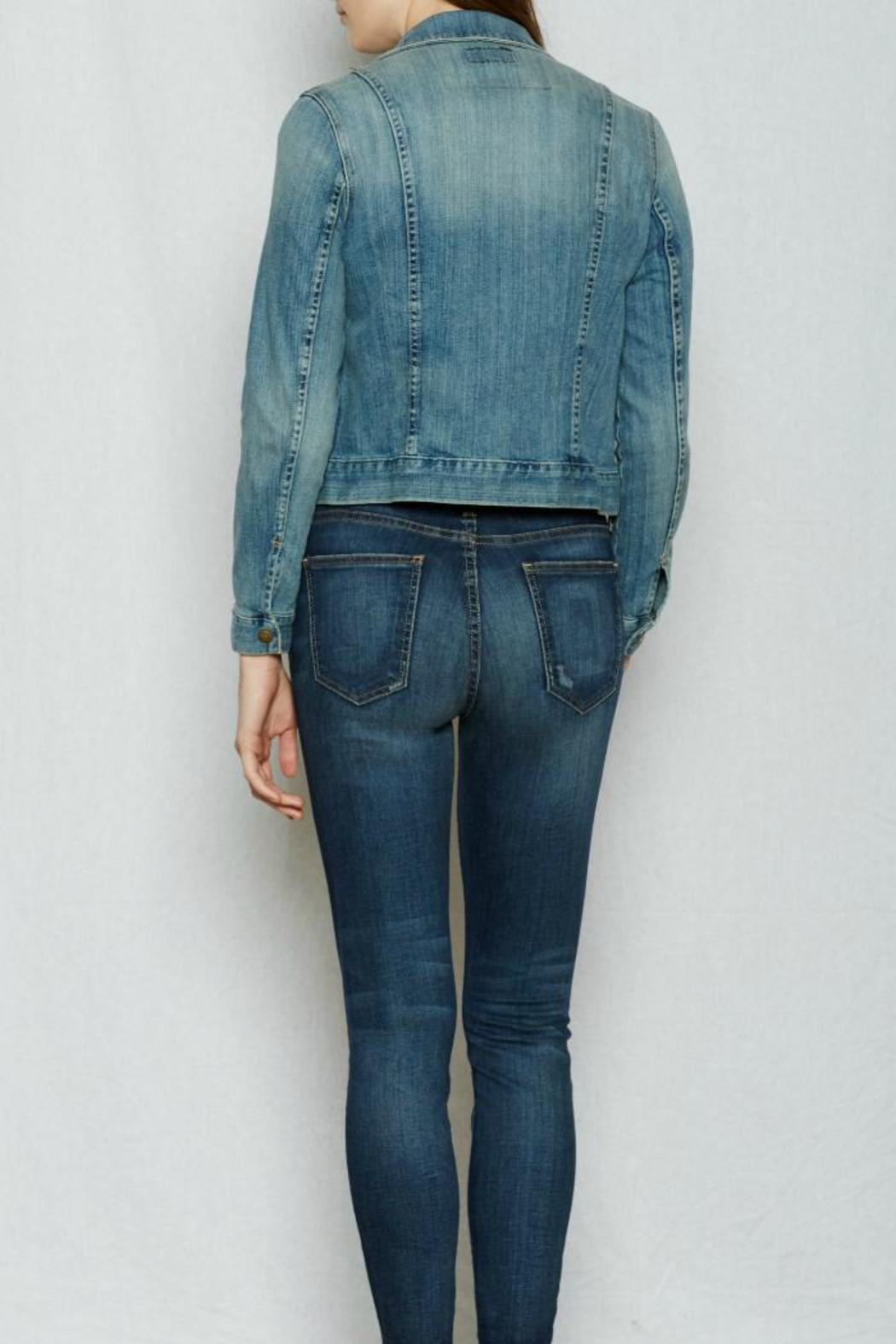 Current Elliott Denim Snap Jacket - Side Cropped Image