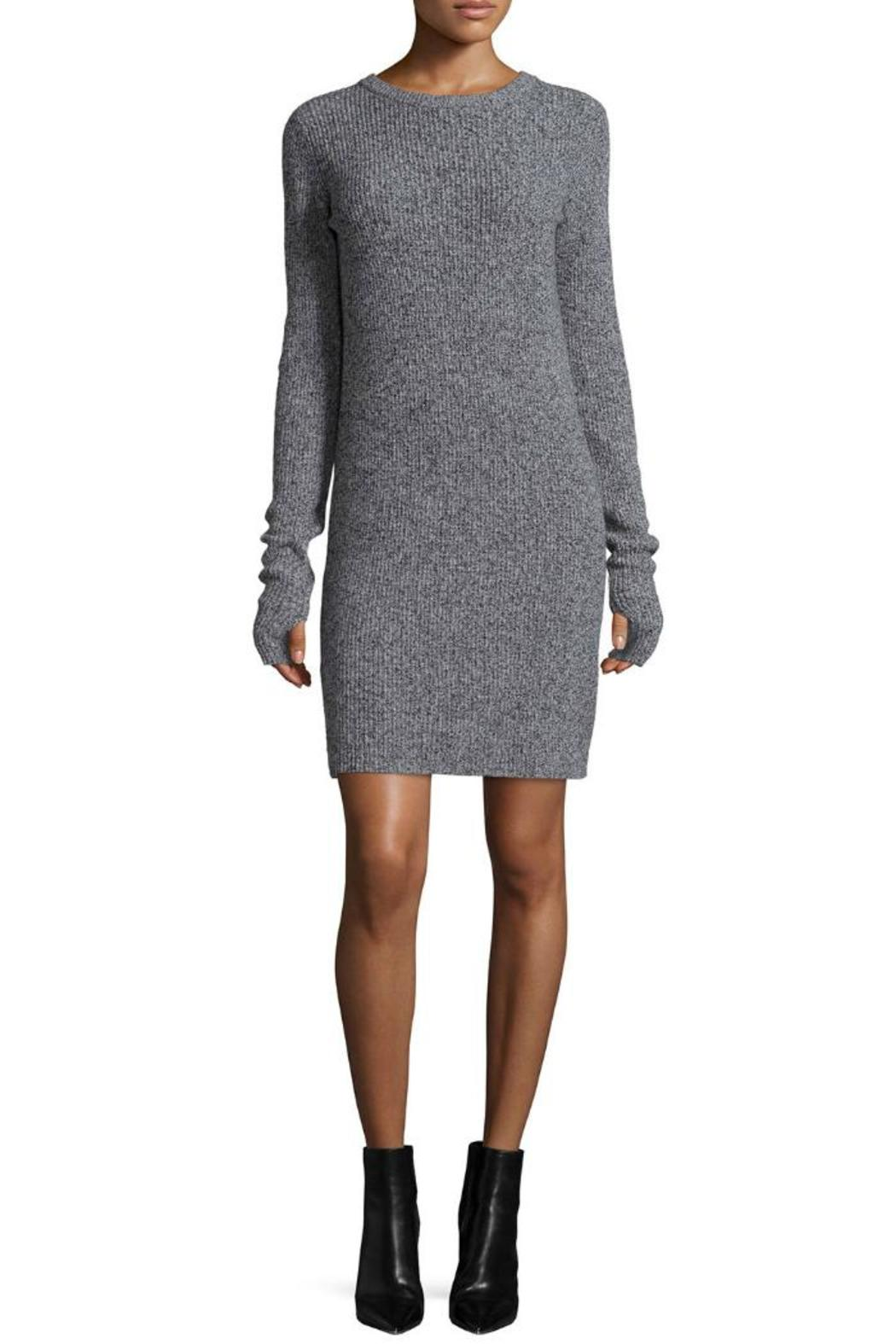 Current/Elliott Easy Sweater Dress - Front Cropped Image