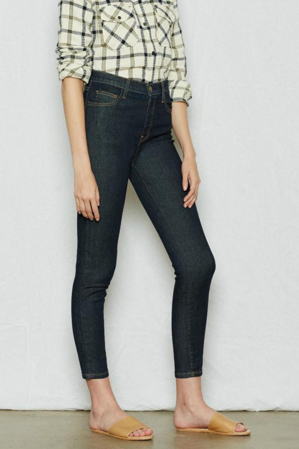 Current Elliott Highwaist Stiletto Jean - Front Full Image