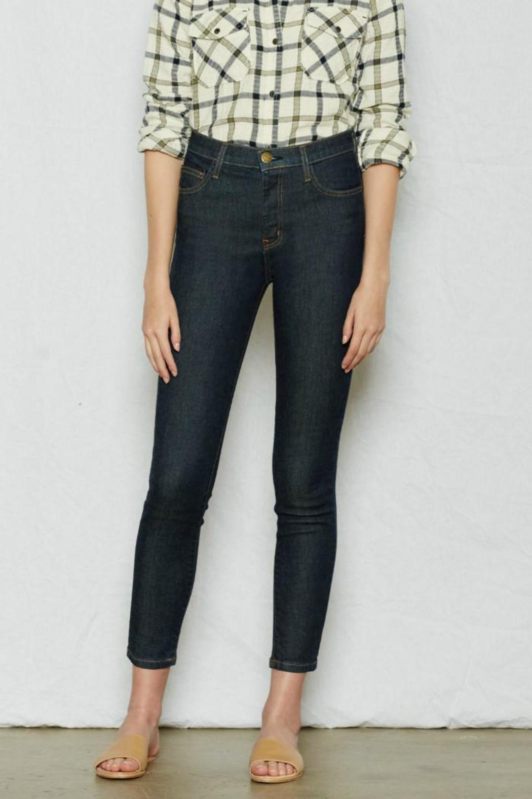 Current Elliott Highwaist Stiletto Jean - Front Cropped Image