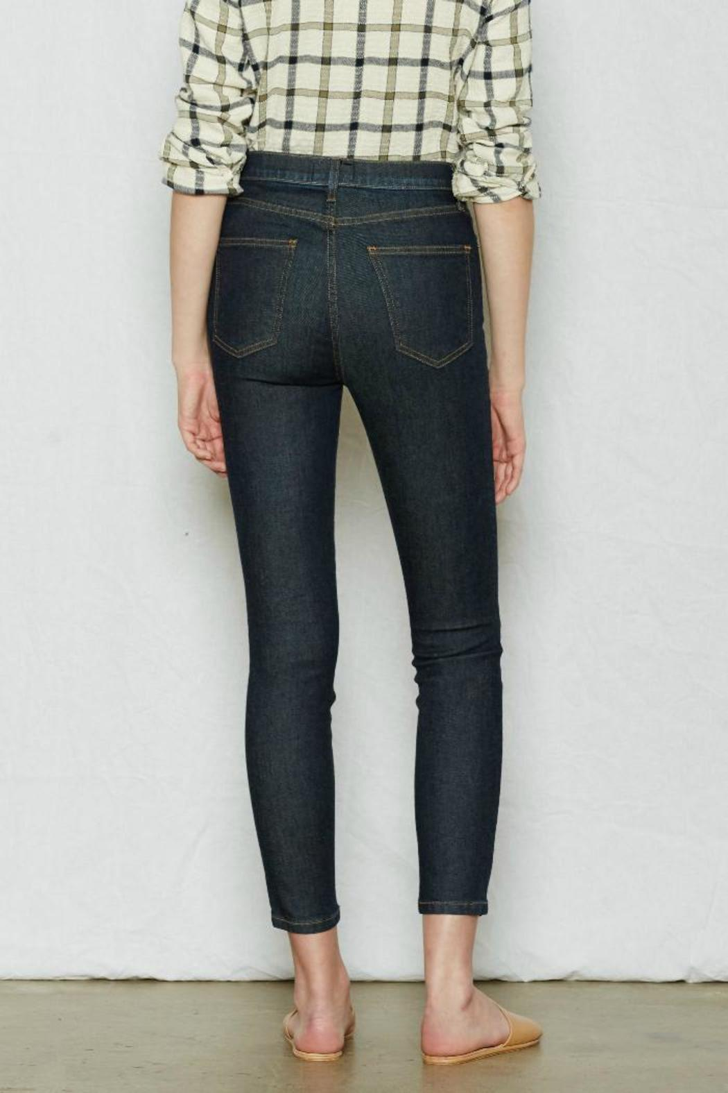 Current Elliott Highwaist Stiletto Jean - Side Cropped Image