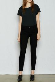Current Elliott Highwaist Stiletto Jetblack Pants - Product Mini Image