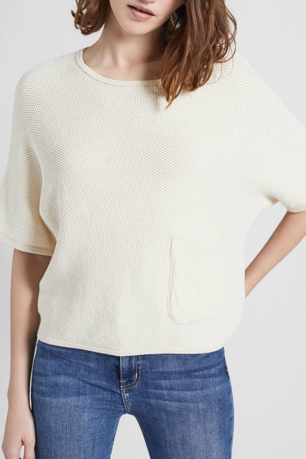 Current Elliott Tee Chest Pocket Top - Side Cropped Image
