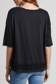 Current Elliott Pom Pom Tee Top - Front full body
