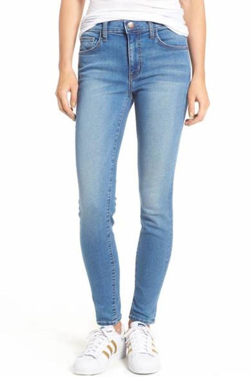 Current Elliott Skinny Jeans - Main Image
