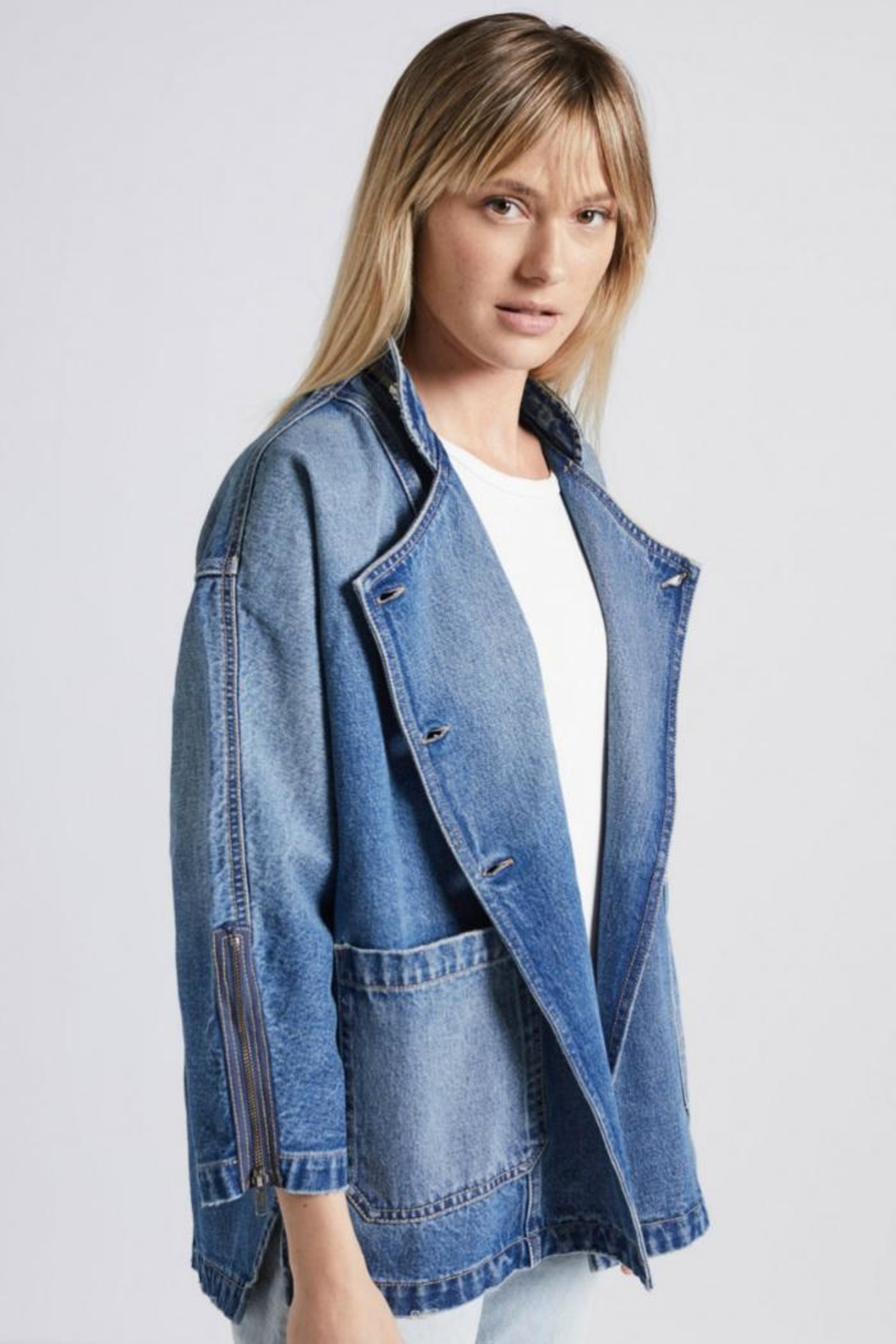 Current Elliott The Crosby Jacket - Front Cropped Image