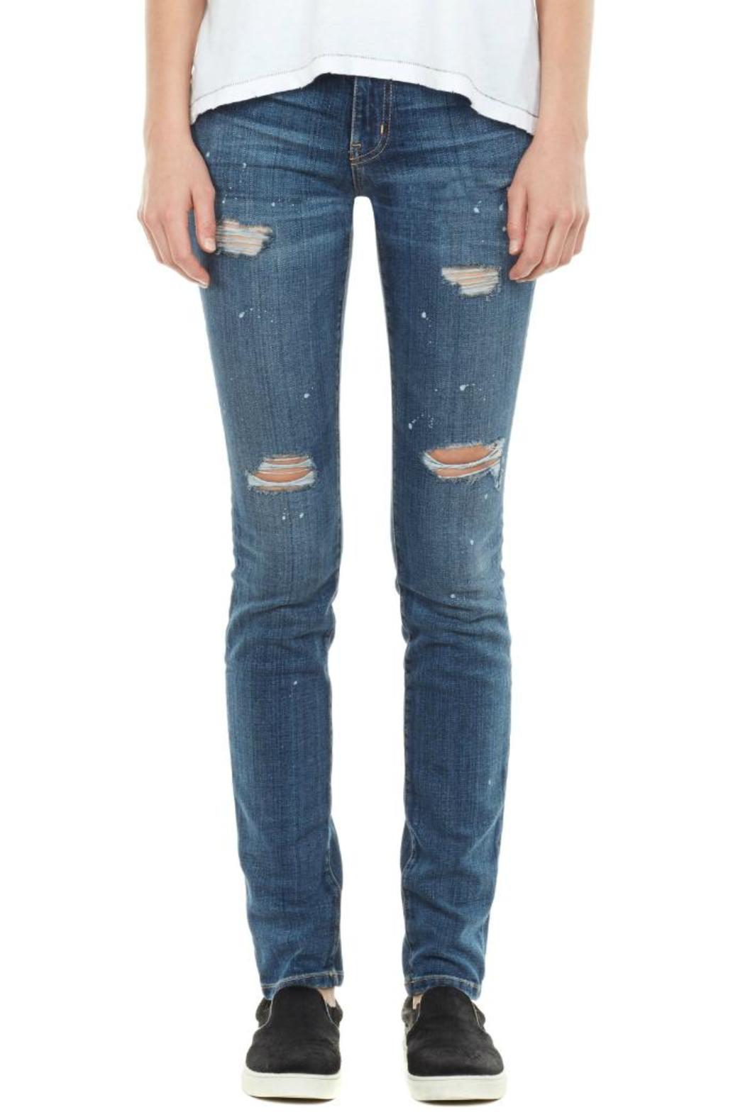 Current/Elliott The Distressed Skinny - Front Cropped Image