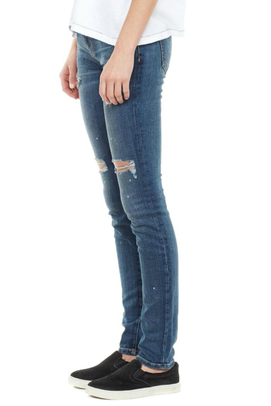 Current/Elliott The Distressed Skinny - Front Full Image