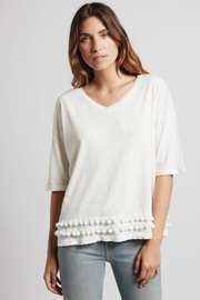 Current Elliott The Pompom Tee - Front cropped