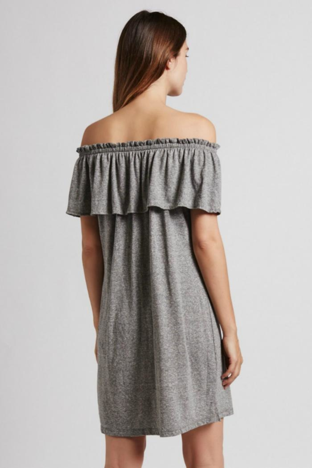 Current Elliott The Ruffle Dress - Side Cropped Image