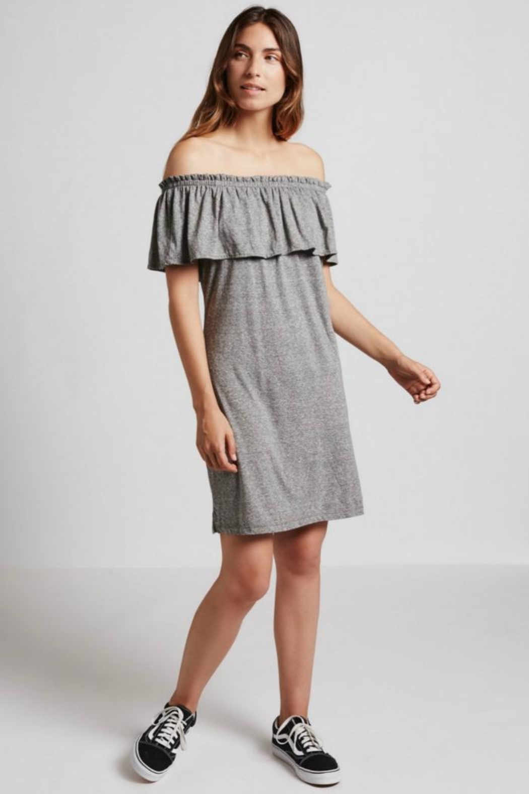 Current Elliott The Ruffle Dress - Main Image