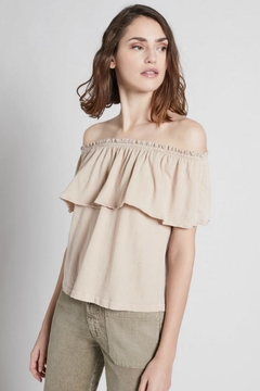 Current Elliott The Ruffle Top - Product List Image