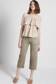 Current Elliott The Ruffle Top - Front full body