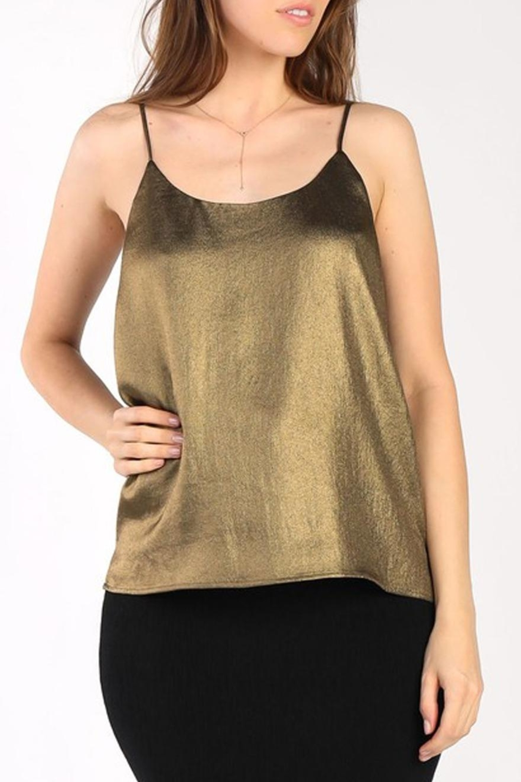 Current Air Bronze Cami - Front Full Image