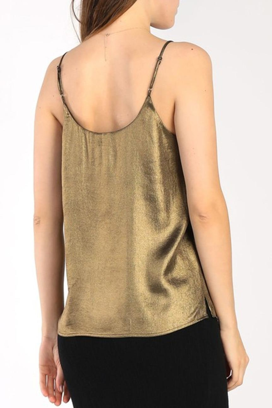 Current Air Bronze Cami - Side Cropped Image