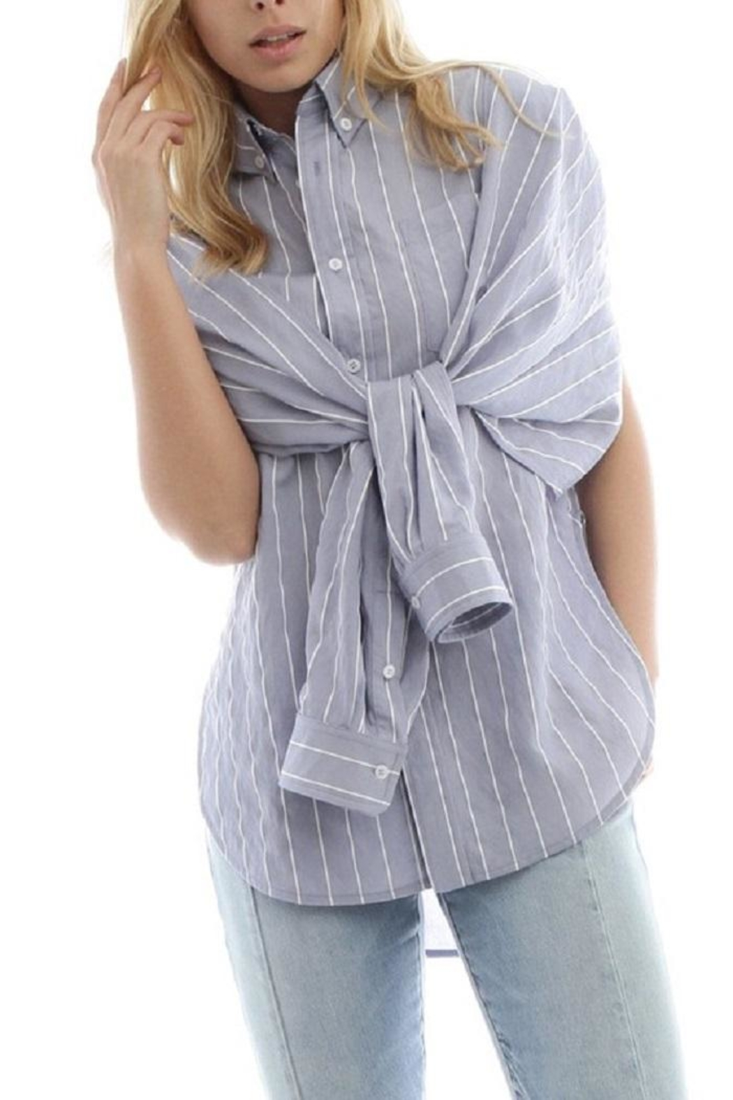 Current Air Button Down Blouse - Main Image