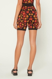Current Air Floral Knit Shorts - Side cropped