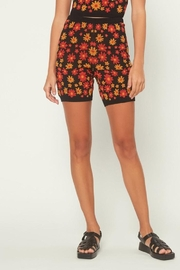 Current Air Floral Knit Shorts - Product Mini Image