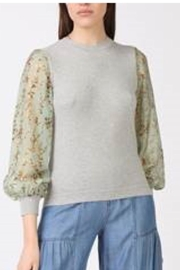 Current Air Floral Knit Top - Product Mini Image