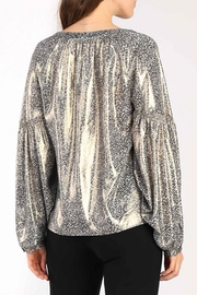 Current Air Floral Shimmer Blouse - Side cropped