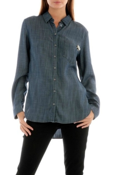 Shoptiques Product: Jean Button-Down Shirt
