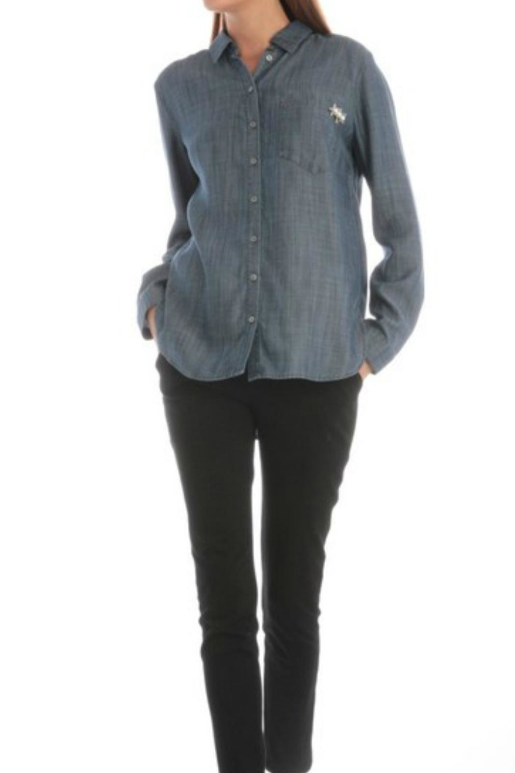 Current Air Jean Button-Down Shirt - Front Full Image