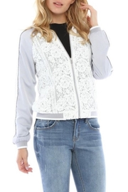 Current Air Lace Bomber Jacket - Product Mini Image