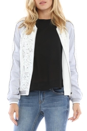 Current Air Lace Bomber Jacket - Front full body